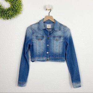 Cello Medium Wash Denim Blue Jean Jacket S